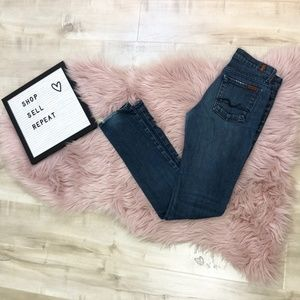 """7 For All Mankind """"Roxanne"""" Jeans sz 26"""